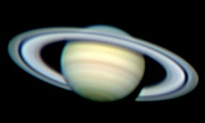 Saturn planets stars DMK ToUcam